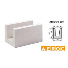 Aeroc-U-blok 200x250x500