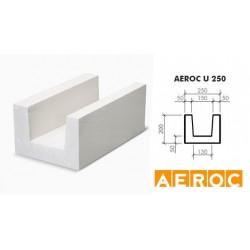 Aeroc U-blok 250x200x500