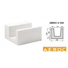 Aeroc-U-blok 300x250x500