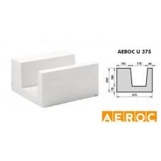 Aeroc-U-blok 375x250x500