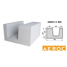 Aeroc-U-blok 400x250x500