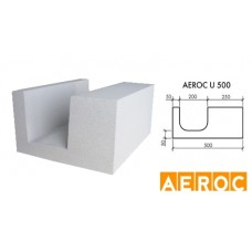Aeroc-U-blok 500x200x500