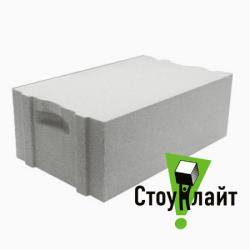 Газобетон Стоунлайт стеновой 375x200x600