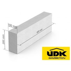 Газобетон UDK D500 100x200x600