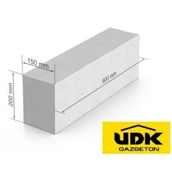 Газоблок UDK D 400 - 150x200x600