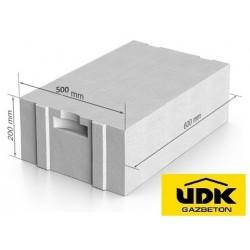 Газоблок UDK - D400  500x200x600