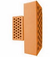Облицовочный керамический кирпич ТМ «Агропромбуд»(Борзна) Персик