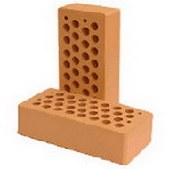 Облицовочный керамический кирпич ТМ «Агропромбуд»(Борзна) Красный